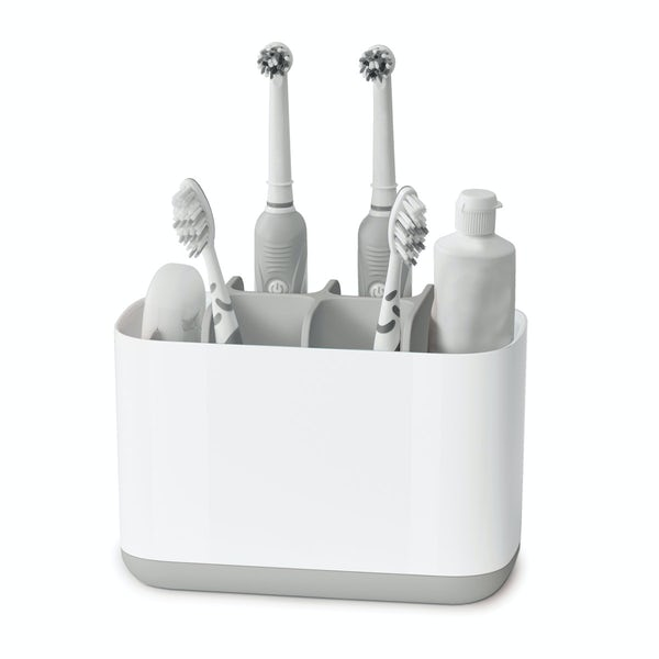 Joseph Joseph Easy store large grey toothbrush holder