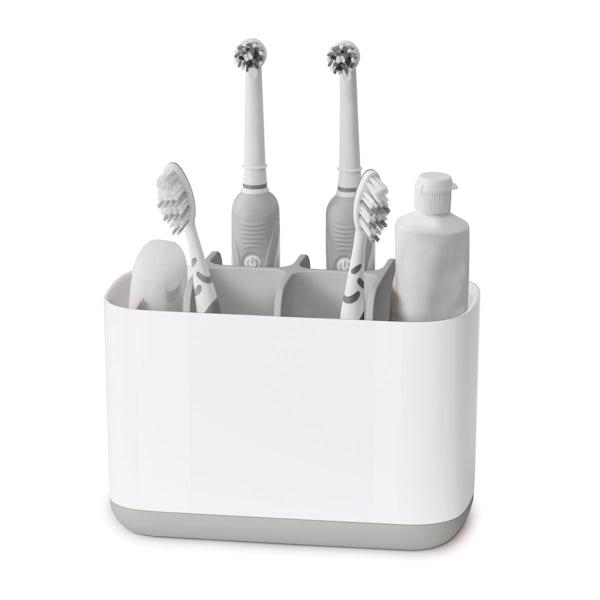 Joseph Joseph Easy store large grey toothbrush holder