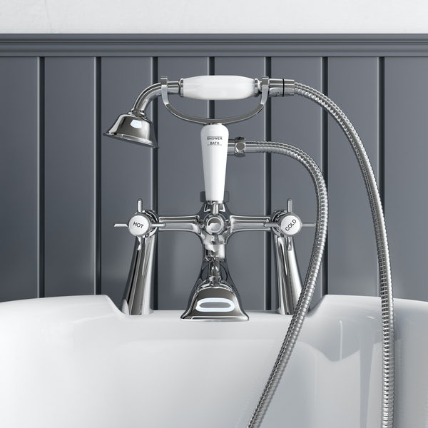 The Bath Co. Dulwich bath shower mixer tap