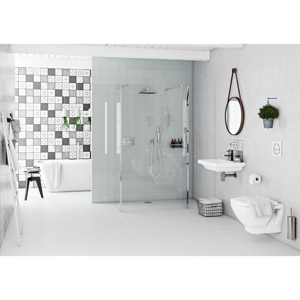 Mode Cooper wall hung basin 600mm