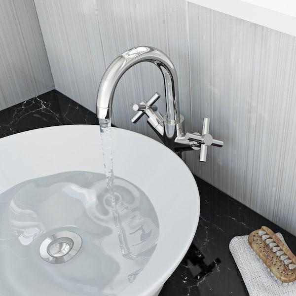 Mode Tate high rise basin mixer tap