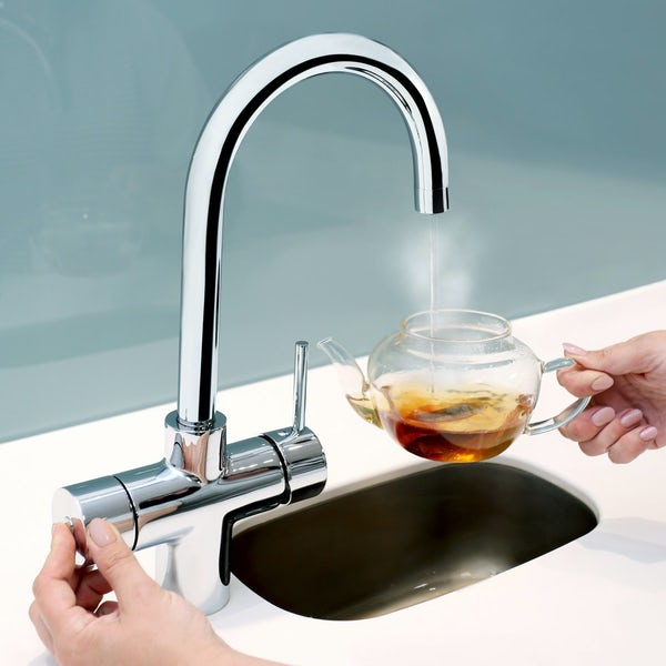 Bristan Gallery Rapid 3 in 1 boiling water tap