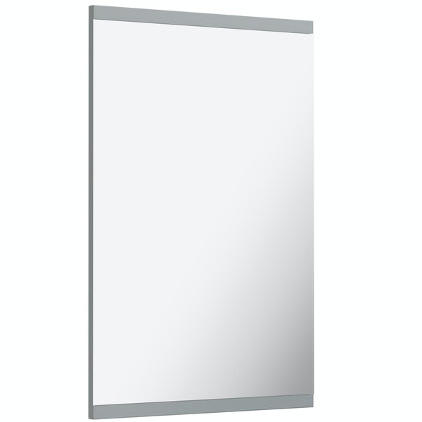 Orchard Elsdon stone grey mirror 500x700mm