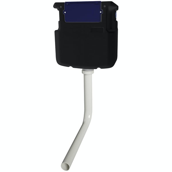 Macdee Wirquin pneumatic concealed toilet cistern with square push button