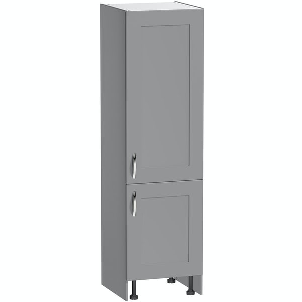 Schön New England light grey shaker 600mm larder unit