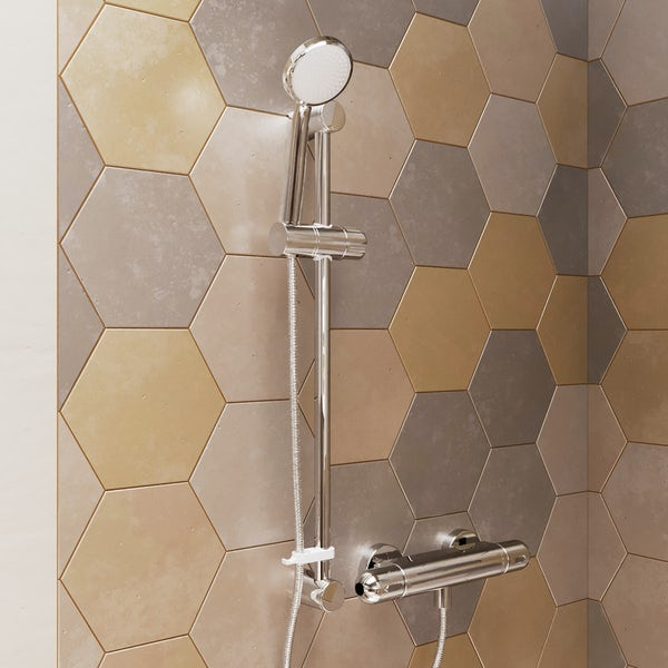 Ideal Standard Tesi thermostatic shower system