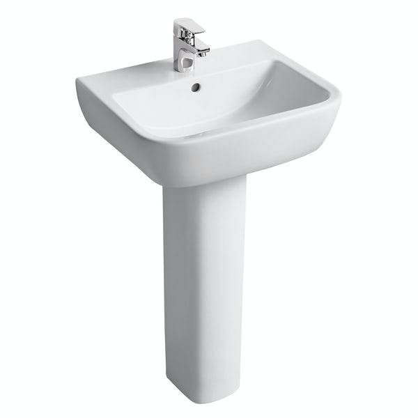 Ideal standard tempo complete double ended bath suite 1700 for Ideal standard diagonal
