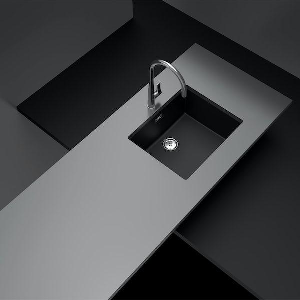 Rangemaster Schock Greenwich 1.0 bowl granite inset kitchen sink