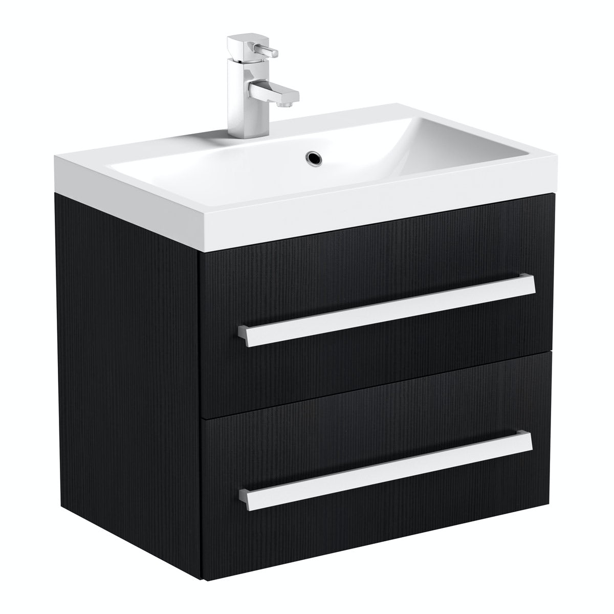 Victoria Plumb Showers >> Orchard Wye essen wall hung vanity unit with basin 600mm | VictoriaPlum.com