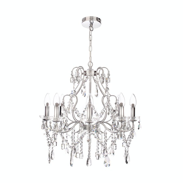 Marquis by Waterford Annalee 8 light bathroom chandelier
