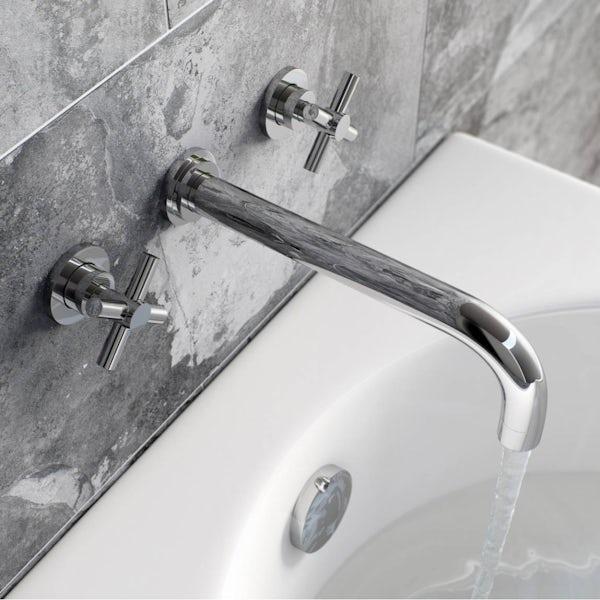 Tate Wall Mounted Bath Mixer