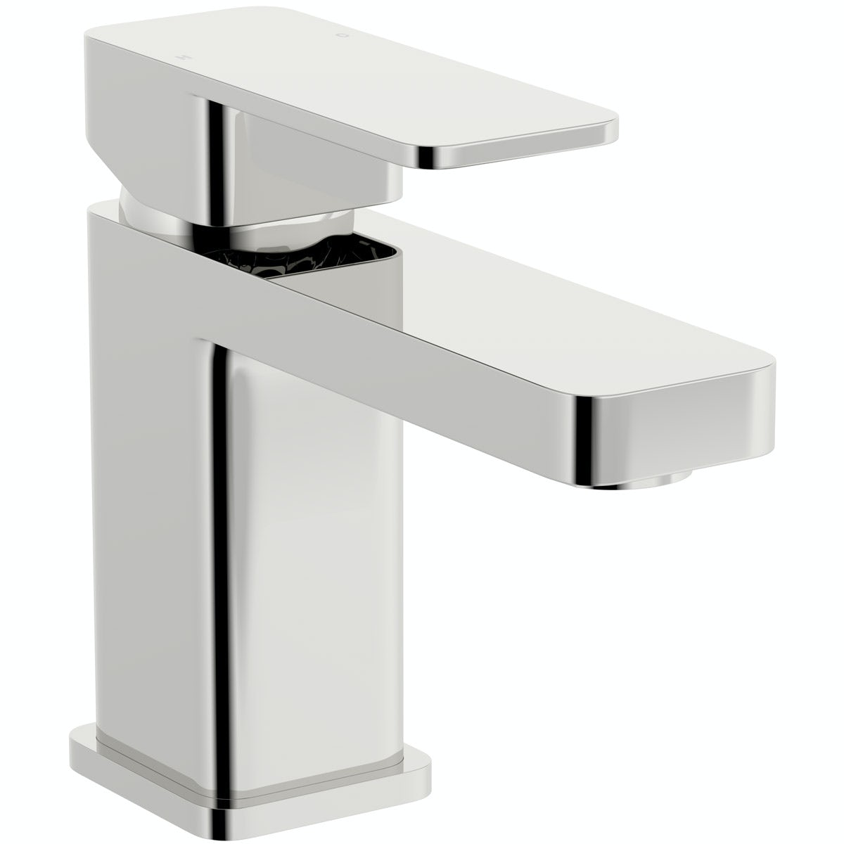 Kirke Connect basin mixer tap with click clack waste