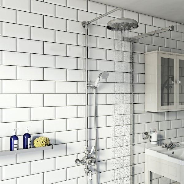 Winchester dual valve riser shower system