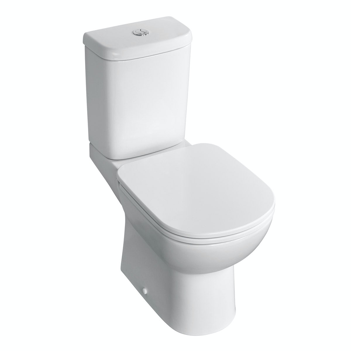 Ideal Standard Tempo close coupled toilet with soft close seat