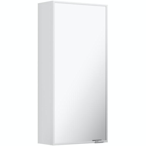 Mode Breuer slimline mirror cabinet 640 x 300