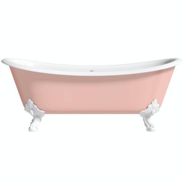 Artist Collection Lush Blush Light Pink cast iron bath