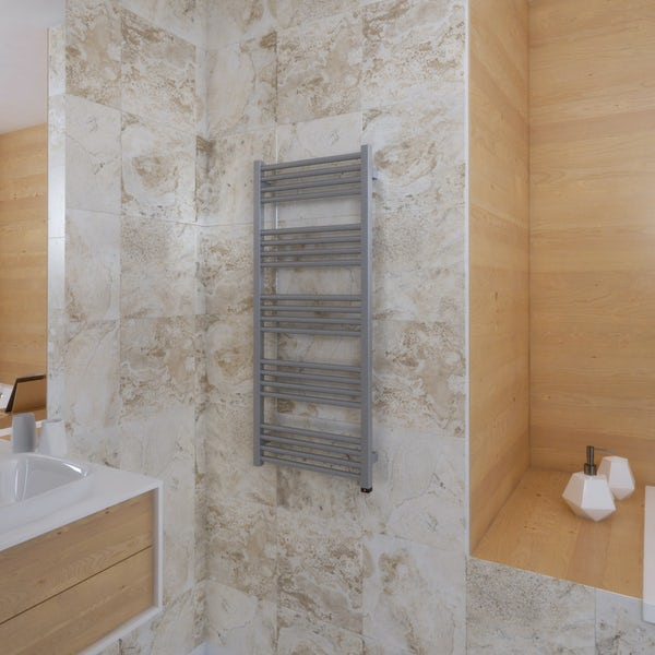 Terma Fiona ONE sparkling gravel electric towel rail