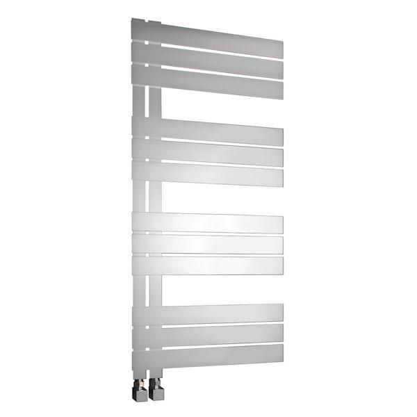 Reina Riesi stainless steel designer towel rail 1200 x 600