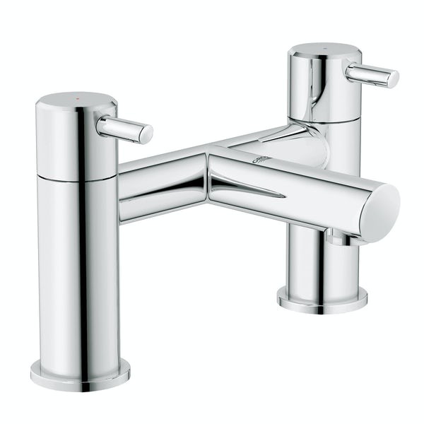 Grohe Concetto bath mixer tap | VictoriaPlum.com