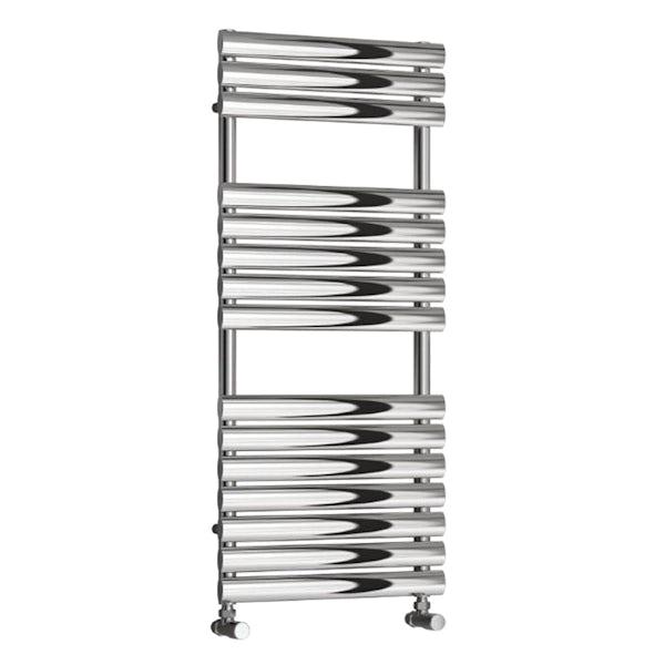 Reina Helin stainless steel designer towel rail