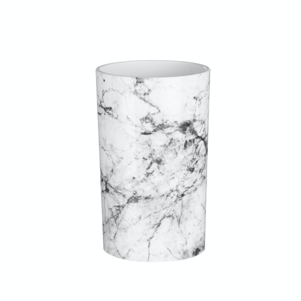 Accents Rome black and white marble effect tumbler