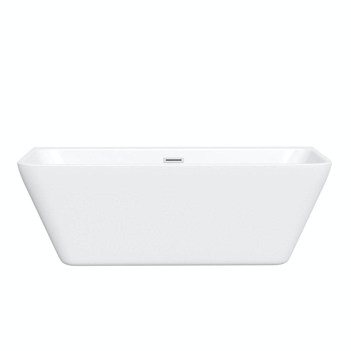 Mode Carter back to wall bath 1700 x 750