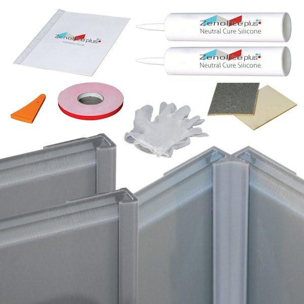 Zenolite ash corner installation kit