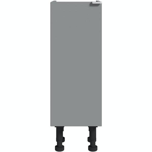 Reeves Wyatt onyx grey storage unit 870 x 300mm