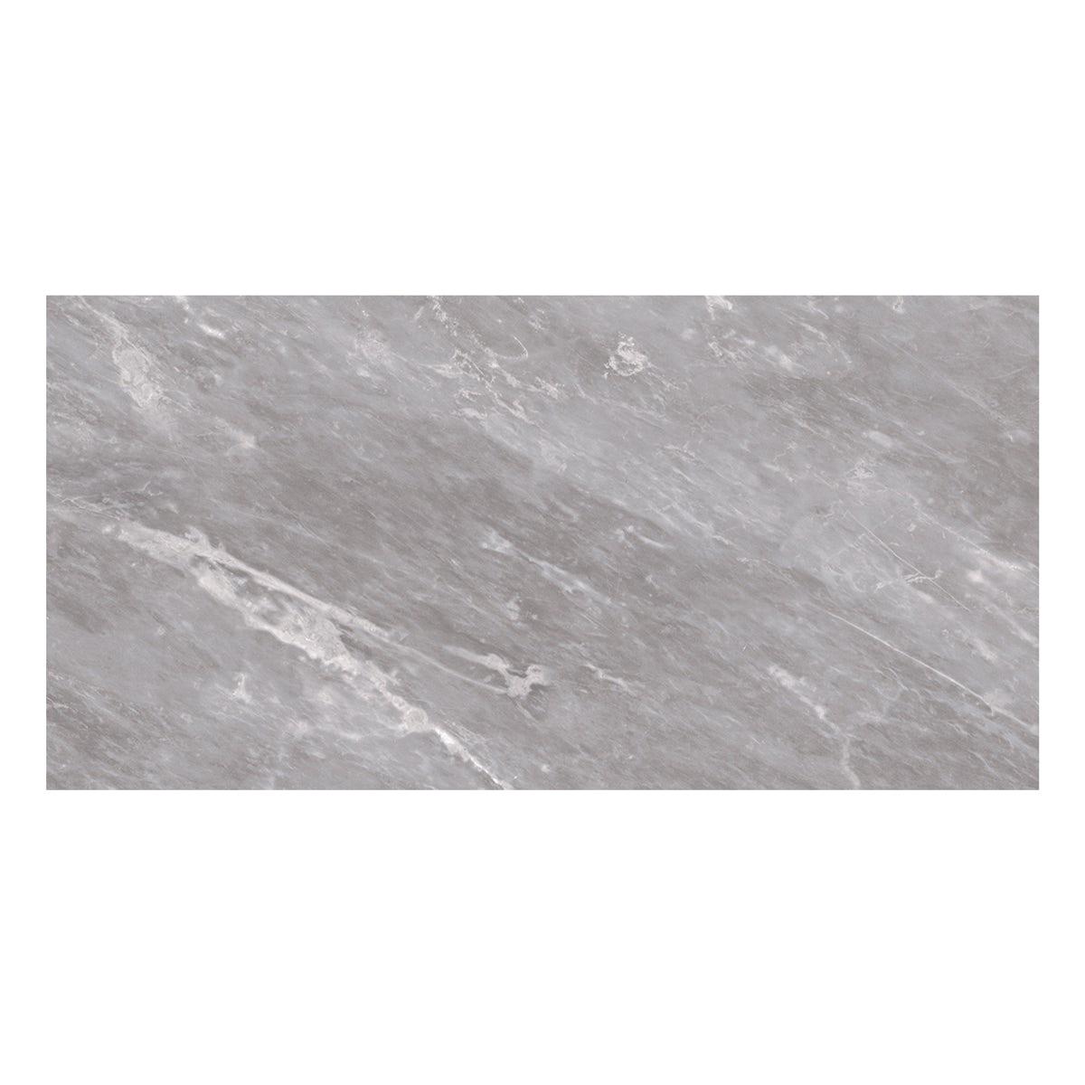 British Ceramic Tile Harmony Marble Light Grey Matt Wall