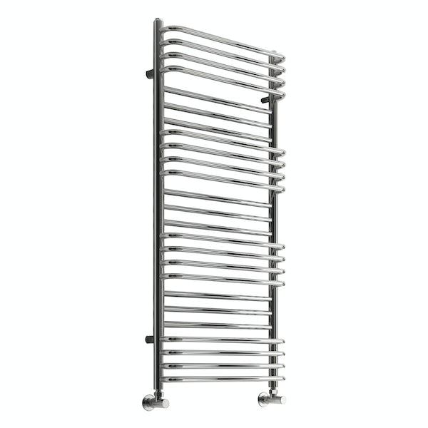 Reina Marco chrome steel designer radiator