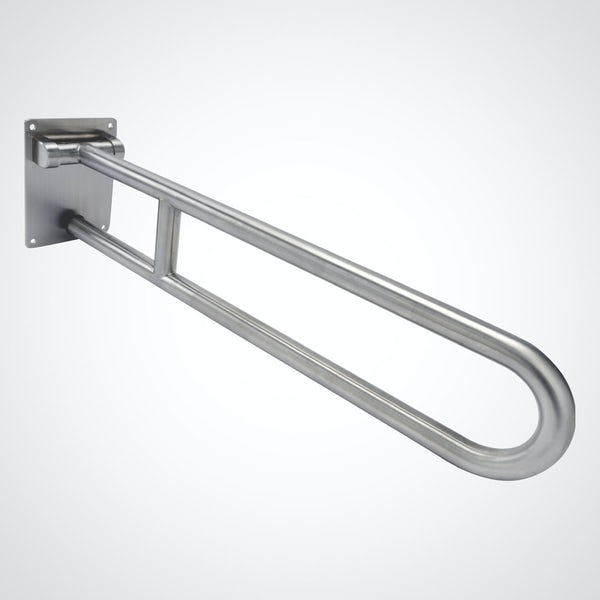 Dolphin commercial Doc M stainless steel hinged support rail
