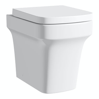 Mode Carter back to wall toilet with soft close seat