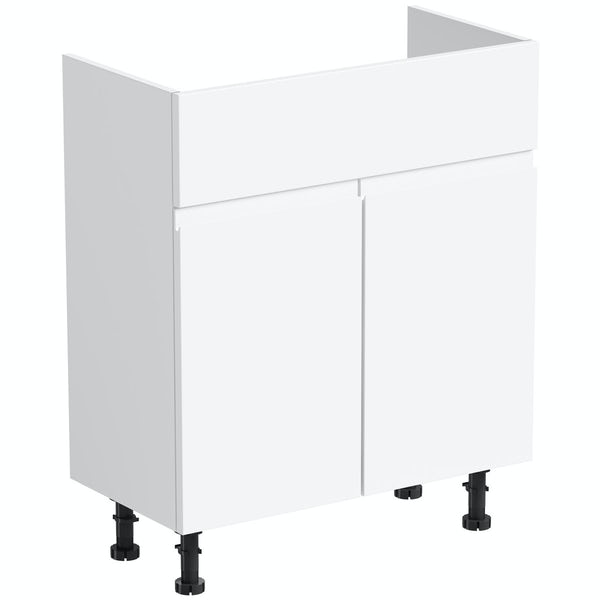 Orchard Wharfe white vanity unit 650mm