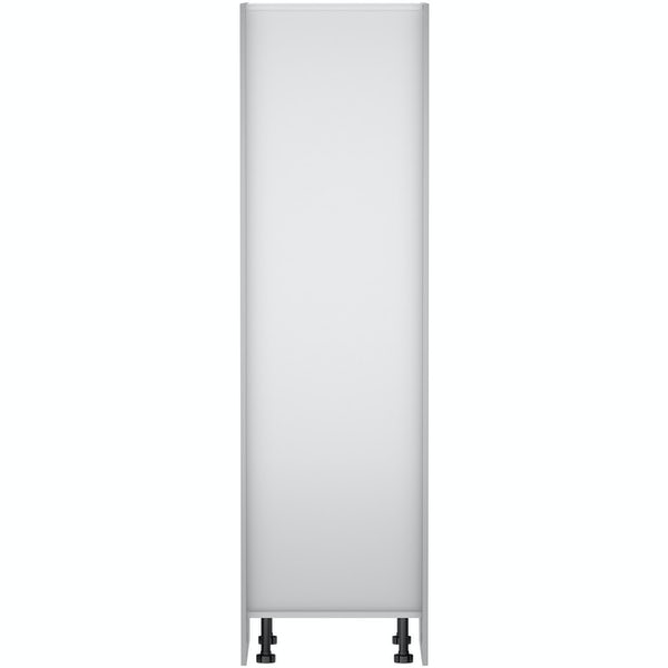 Schon Boston light grey slab 600mm larder unit