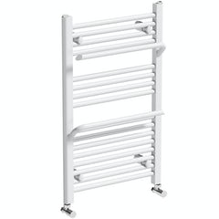Main image for Mode Rohe white heated towel rail with hangers 800 x 500