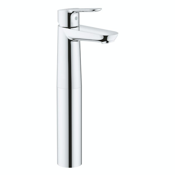 Grohe BauEdge high rise smooth body basin mixer tap