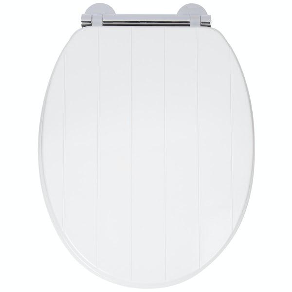 Croydex Portland Flexi Fix Toilet Seat Victoriaplum Com