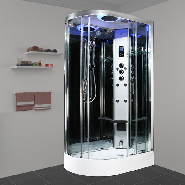 Insignia Premium offset quadrant right handed steam shower cabin