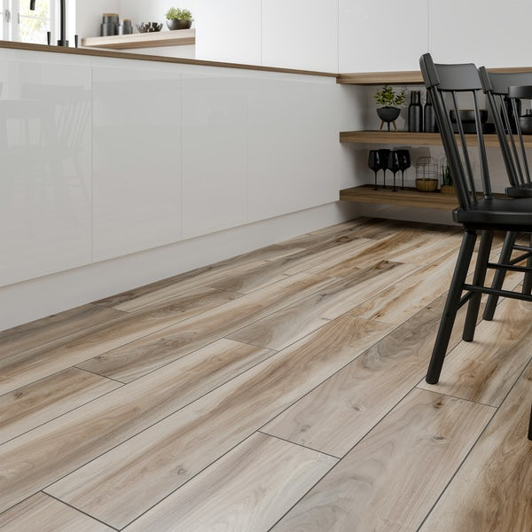 Langley cedar wood effect matt wall and floor tile 200mm x 1200mm