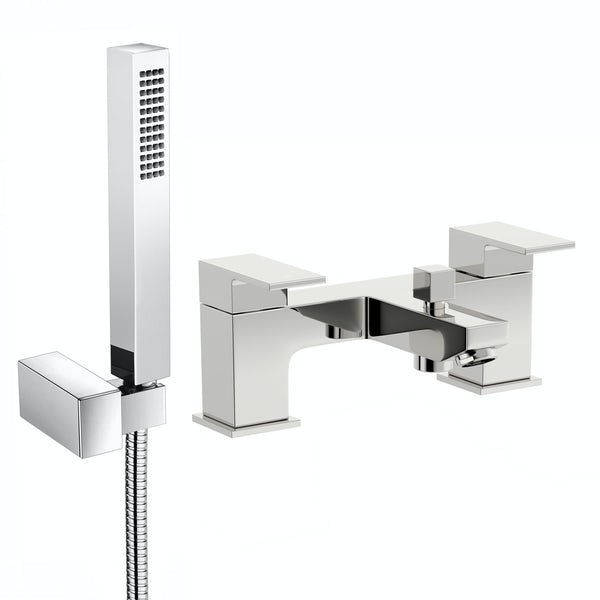 Kirke Cubic bath shower mixer tap