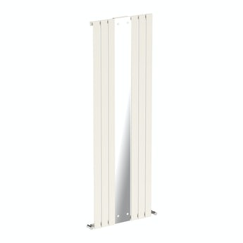 Mode Ellis white vertical radiator with mirror 1840 x 620