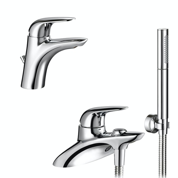 Mira Comfort basin and bath shower mixer tap pack