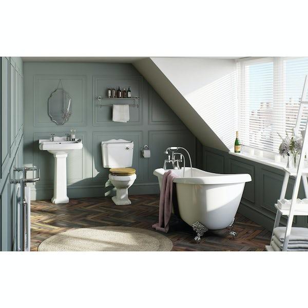 Winchester Bathroom Set with Slipper Bath Suite