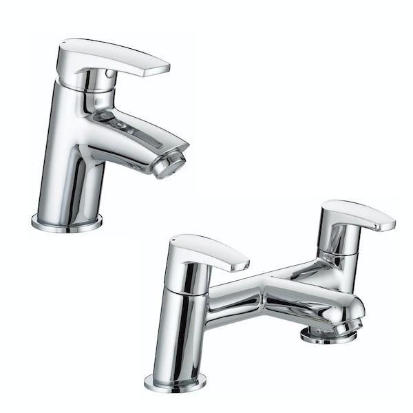 Bristan Orta basin and bath mixer tap pack