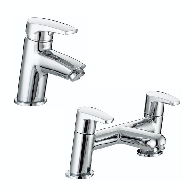 Bristan Orta basin and bath mixer tap pack