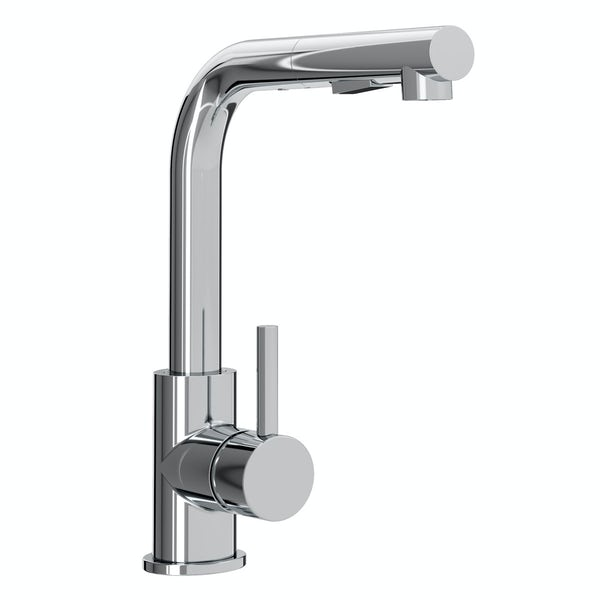 Bristan Macadamia single lever kitchen mixer tap with pull out spout