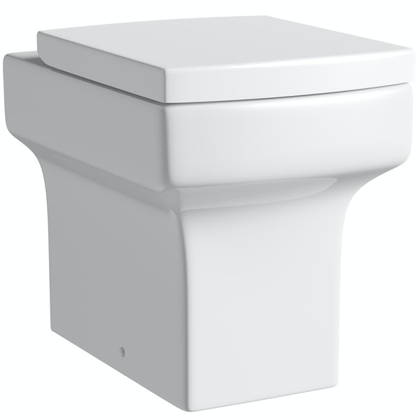 Wye back to wall toilet inc concealed cistern