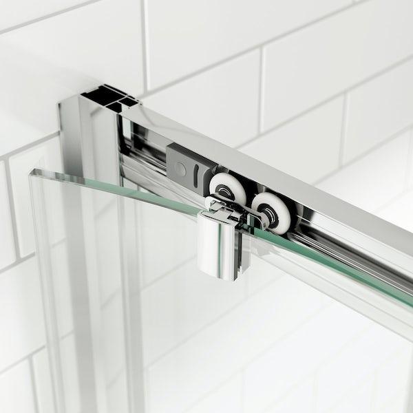 8mm Easy Clean Sliding Quadrant Shower Enclosure