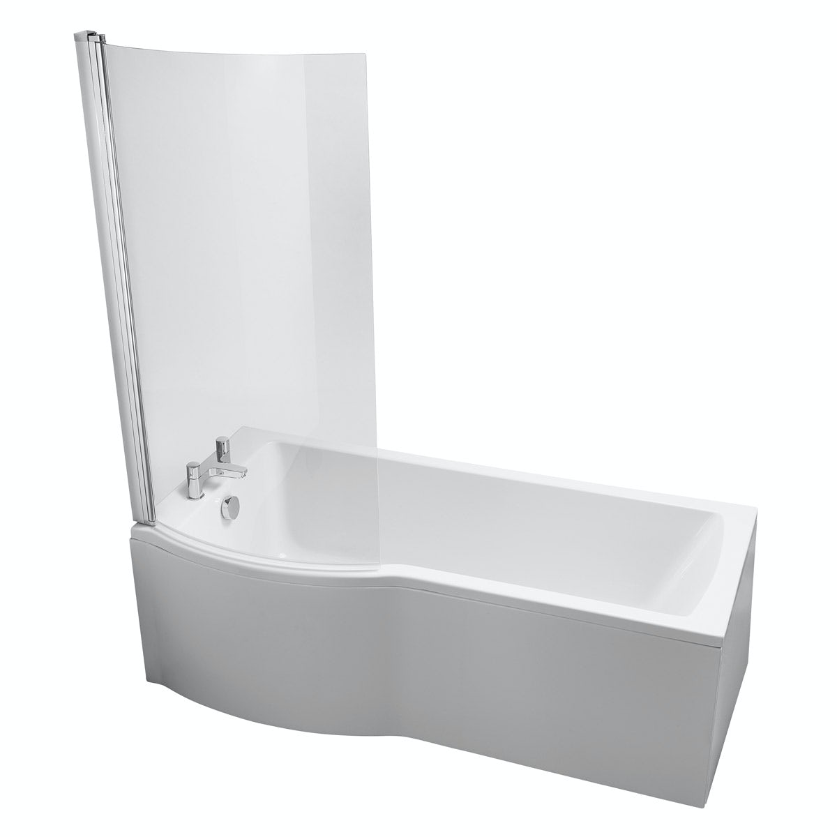 Ideal Standard Tempo Left Handed Shower Bath With Bath