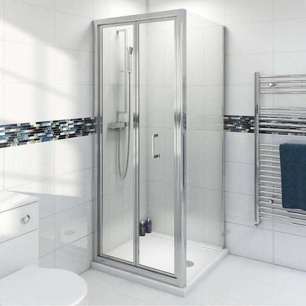 V6 Bifold Shower Enclosure 760